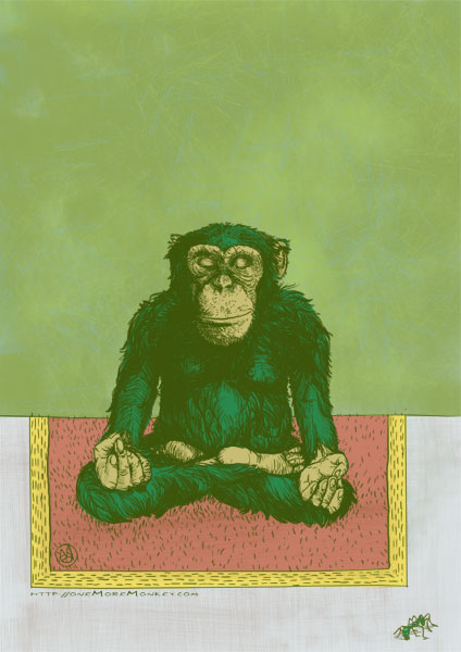 Onemoremonkey Drawings 100 Monkeys Omm